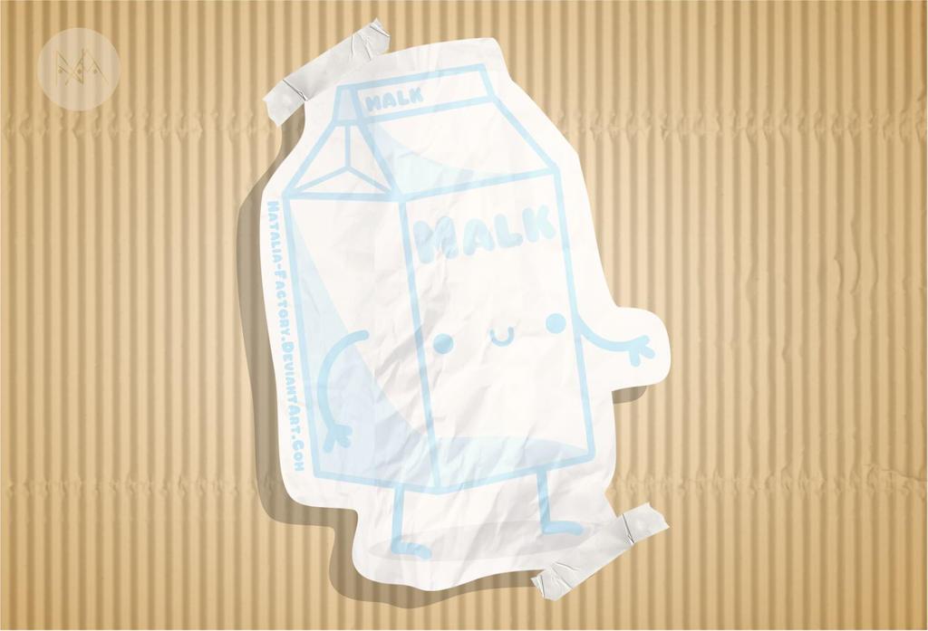 Kawaii Milk by natalia-factory