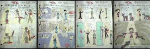 Original RE Musical Sketches by DoubleLeggy