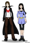 Gregory and Lilly by DoubleLeggy