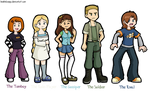 Teh Stream - Background Characters