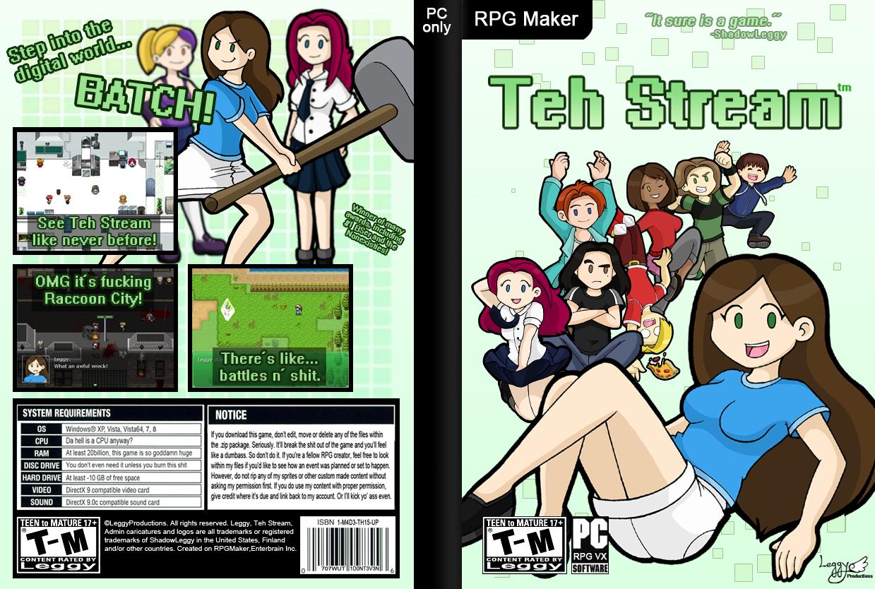 Teh Stream RPG [DEMO] by DoubleLeggy