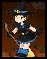 Halloween Witch Costume by DoubleLeggy