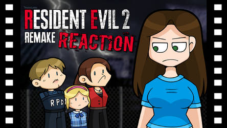 RE2 Remake Reaction by DoubleLeggy