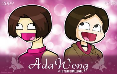 Ada Wong #10YearChallenge by DoubleLeggy