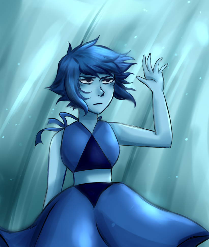 OVERUSED JOKE I'M SORRY I wanted to do one of those screenshot redraw thingies. So I did one with Lapis about to knock down the roaming eye from Barn Mates.  She may have done a pretty shitty ...