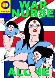 War Nurse cover by cddcomics