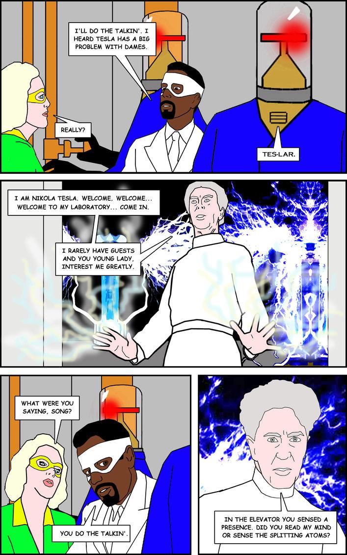 Nikola Tesla Page 6 By Cddcomics On Deviantart