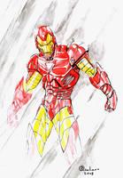 Iron Man sketchs by qualano
