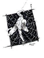 spiderman sketch by qualano