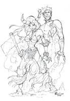 magik sketch by qualano