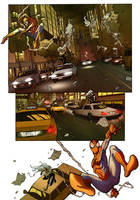 Spiderman sample page 3 by qualano