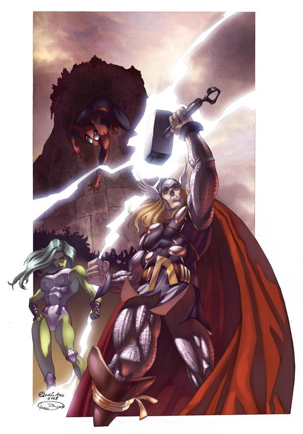 Sarno fumetto 2009 color by qualano