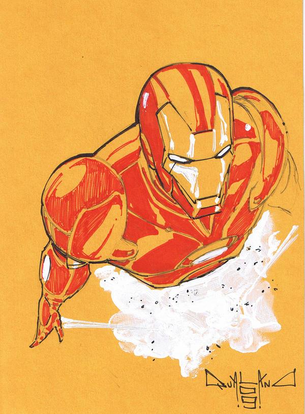 Ironman sketch 2 by qualano