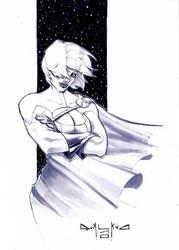 Power Girl Sketch by qualano