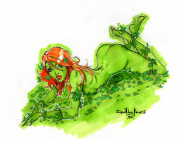 poison ivy commission by qualano