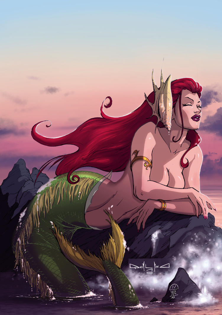The little mermaid-commission by qualano