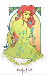poison ivy Art Nouveau
