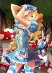 Alice in wonderland cover color