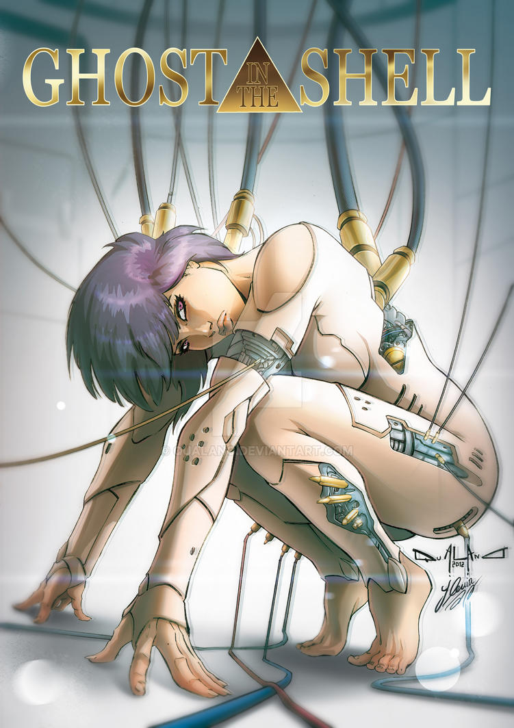 Ghost in the shell Tribute by qualano
