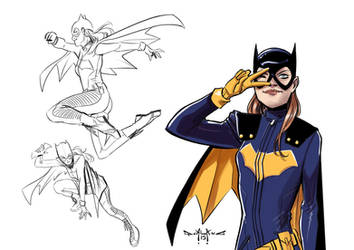 Bat Girl Studies by qualano