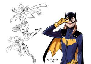 Bat Girl Studies