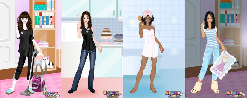 Street fashion 3 dress up games