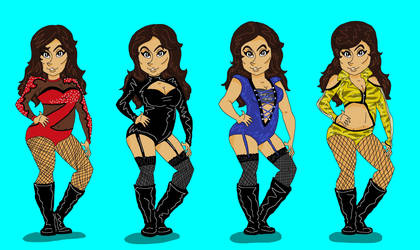 Maxine Outfits
