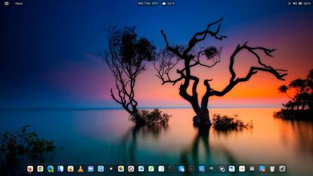 Ubuntu 20.10 clean shot