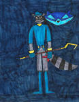 Sly Cooper by zacharyknox222