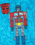 Optimus Prime by zacharyknox222