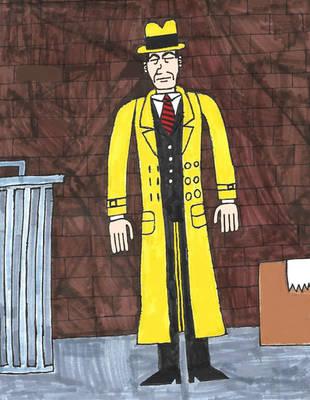Dick Tracy by zacharyknox222