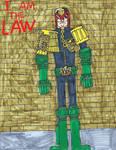 Judge Dredd by zacharyknox222