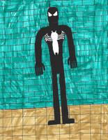 Black Spider-Man by zacharyknox222