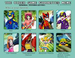 THE VIDEO GAME FAVORITES MEME by MegaHeadBomb