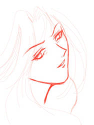 Face study - anime