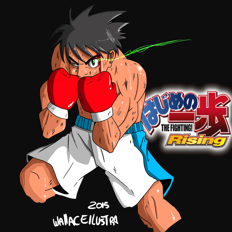 Makunouchi Ippo By Wallacexteam On DeviantArt