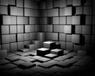 Cube Wall by Ma4nNi