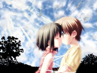 Cute anime kids by Ma4nNi