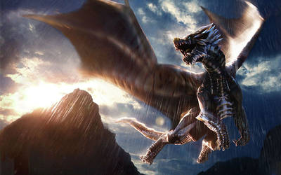 Mystic Dragon by Ma4nNi