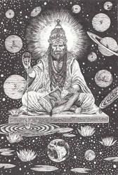 Om Brang Brahmaneya Namaha by AdrianAtenza
