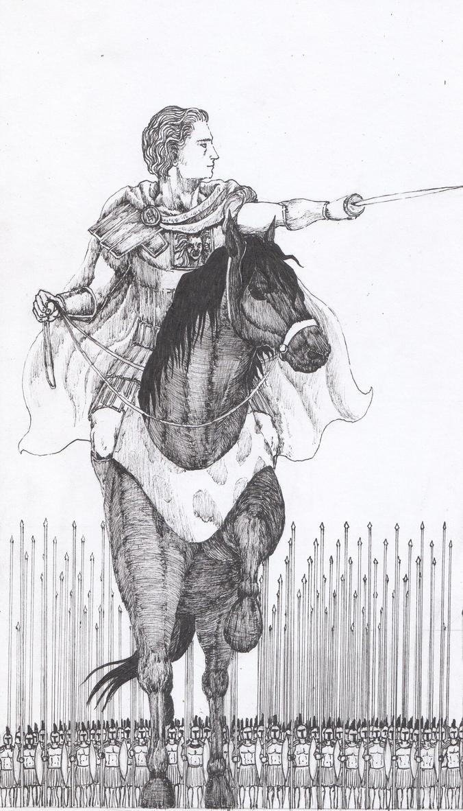 Alexandro Magno by AdrianAtenza