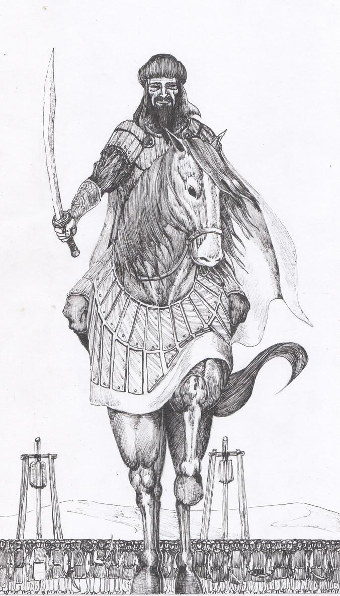 Saladino by AdrianAtenza