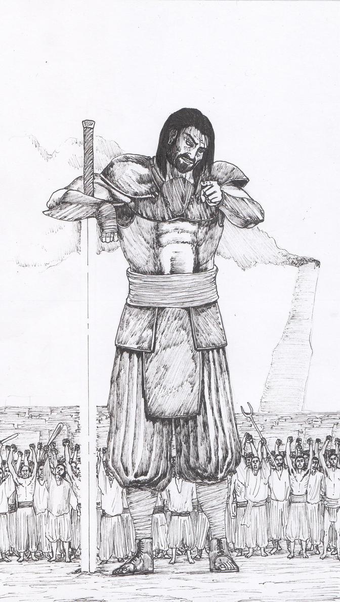 Gilgamesh by AdrianAtenza