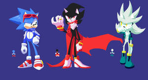 Sonic Trio Redesign by SeasonsParadise