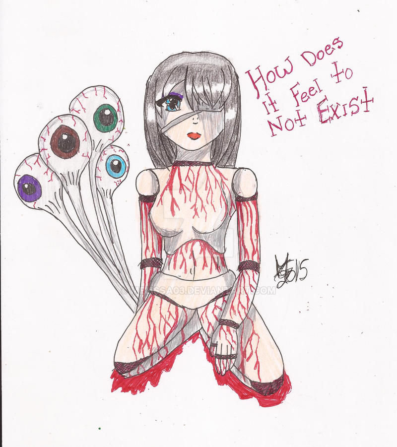 + Ball-jointed Bleeding Doll + by melissa03
