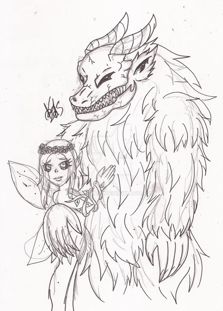 + Good and Evil fairies of the forest + by melissa03