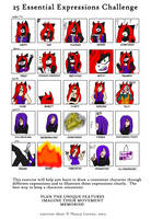 + Kitten's 25 Essential Expressions + by melissa03