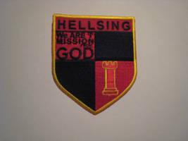 Hellsing Shield Cosplay Patch