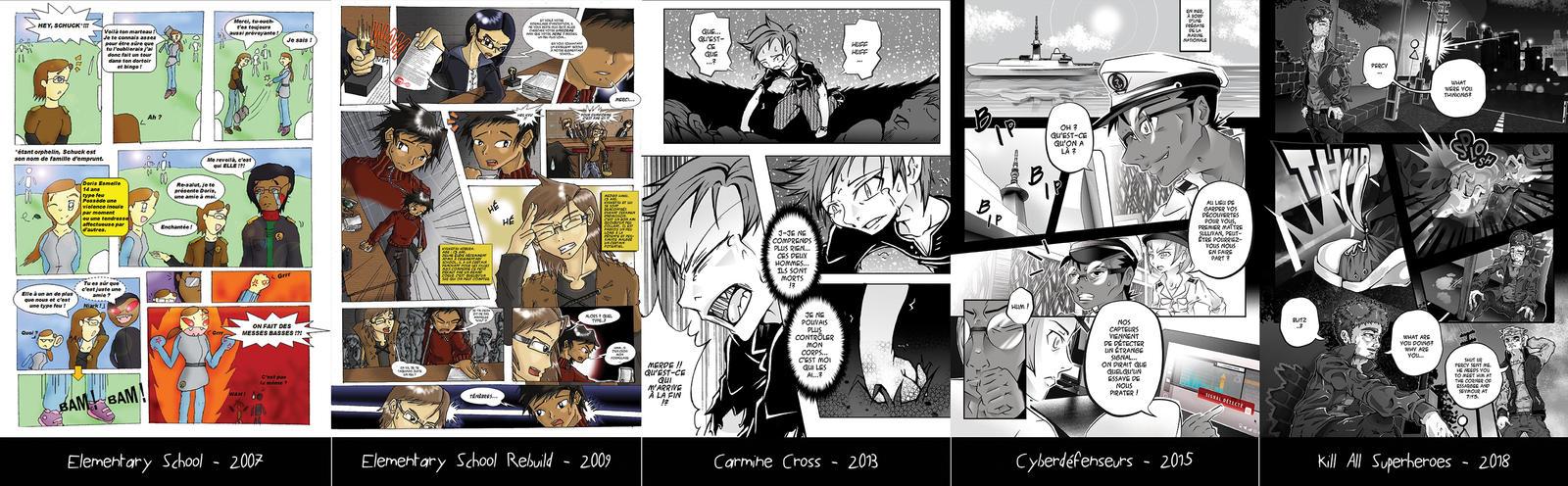 10 Years Of Comics by Mejiro-kun