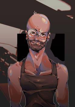 A Bald Head of Silver